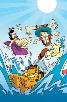 Garfield summer