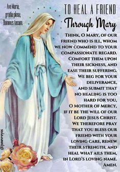 Mary intercede for us Lent Prayers, Prayers To Mary, Novena Prayers, Prayers For Healing, Bible Prayers, Catholic Prayers, Morning Prayers, Catholic Lent, Prayer Verses