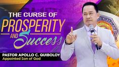 'The Curse of Prosperity and Success' by Pastor Apollo C. Investiture Ceremony, Kingdom Of Heaven, Son Of God, Music Publishing, Apollo, Worship, The Creator, Spirituality, Success