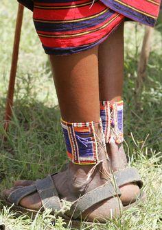 "Africa   ""Maasai ankles"". Kenya"