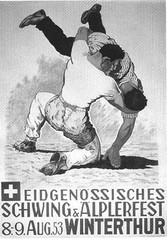 Swiss wrestling! My paternal Grandmother's father was a wrestler whom immigrated from Switzerland to Wisconsin!