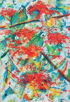 Check out Bahamian art @ http://m.facebook.com/StevenAtCBLR
