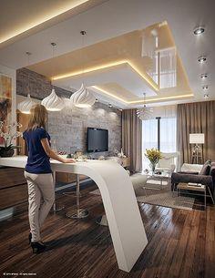Taher Design Contemporary Studio Apartments (6)   Bedrooms   Pinterest    Studio Apartment, Apartments And Contemporary