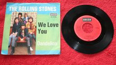 THE ROLLING STONES WE LOVE YOU + DANDELION  7  VINYL