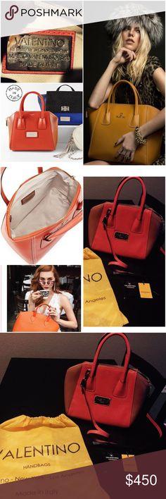 Selling this Valentino NWOT  Crossbody convertible leather bag on Poshmark! My username is: allinmycloset. #shopmycloset #poshmark #fashion #shopping #style #forsale #Valentino #Handbags