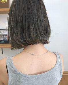 Pin on Hair Medium Hair Cuts, Short Hair Cuts, Medium Hair Styles, Long Hair Styles, Korean Short Hair, Shot Hair Styles, Hair Trim, Hair Arrange, Aesthetic Hair