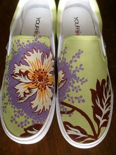 anna's painted shoes (just occurred to me.  I could split stencils to do this sort of thing)