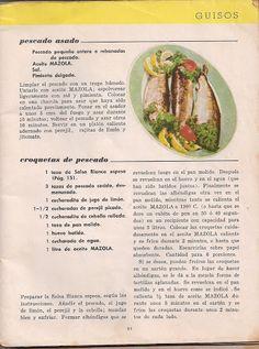 Recetario Maicena - Piper Pérez - Álbumes web de Picasa Seafood, Healthy Eating, Menu, Recipes, Christmas Treats, Places, Kitchen, Ideas, Gastronomia