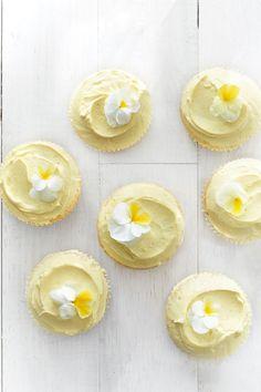 Buttercream Cupcakes  - CountryLiving.com