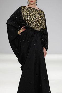 Asian touch in Abayas Das Collection for Summer 2013