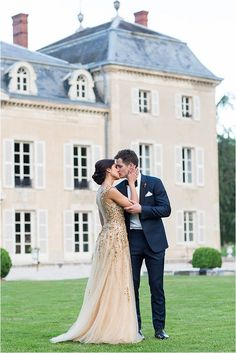destination wedding at Chateau in France | Image by Lauren Michelle Photography