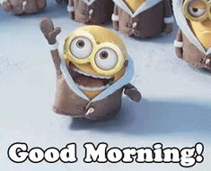 Good morning GIFs - Find & Share on GIPHY,good morning,good morning images,good morning quotes,good morning gif Good Morning Minions, Good Morning Gif Funny, Good Morning Animated Images, Good Morning Gif Animation, Good Morning Picture, Good Morning Greetings, Good Morning Good Night, Morning Humor, Good Morning Wishes