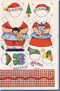 Mr and Mrs Santa Claus and elf paper doll clothes 2 Christmas Paper, Christmas Images, Christmas Crafts For Kids, Christmas Printables, Vintage Christmas, Xmas, Paper Toys, Paper Crafts, Theme Noel