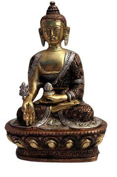 Statue Bouddha Bronze N32