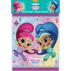 Shimmer and Shine Favor Bags | Shimmer and Shine Party Supplies