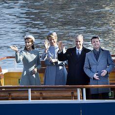 Kronprinsparret og D.M. Kong Philippe og Dronning Mathilde af Belgien var her til eftermiddag på sejltur i Københavns Havn. Sejlturen havde blandt andet fokus på vedvarende energi #BELDK2017   Scanpix og Kongehuset ©