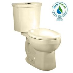 View the American Standard 2888.216 H2Option Round-Front Two-Piece DUAL FLUSH Toilet with EverClean Surface, PowerWash Rim and Right Height Bowl at FaucetDirect.com.