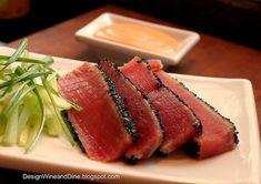 Ever wonder how to perfectly sear Ahi Tuna? Follow Cares Kitchen recipe blog to make this Sesame Seared Ahi Tuna - everyone who loves fish should make this!