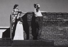 Viendo un eclipse solar. #Frida&Diego