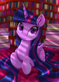 I always liked Twilight with long mane, I hope you don't mind my weird tastes XD (She's looking at you) ______Help me share it with. Princesa Twilight Sparkle, Mlp Twilight, My Little Pony Twilight, Mlp My Little Pony, My Little Pony Friendship, Dessin My Little Pony, My Little Pony Poster, My Little Pony Drawing, My Little Pony Videos