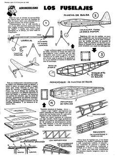 Planitos de Lupin. Fuselajes