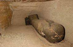 La tombe d'Iahmès (VI-Ve siècle avant J.-C.), caveau C.© Photos Christian Décamps / Mission archéologique du Louvre à Saqqara