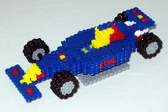 3D F1 Red Bull team perler bead sprite by Alfons05