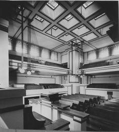 Unity Temple (1908), Oak Park, Illinois - by Frank Lloyd Wright