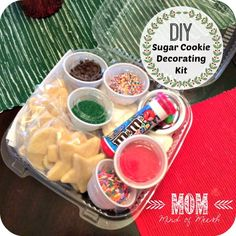 Sugar Cookie Decorating Kit for the holidays! Give them as gifts to your neighbors, friends and families! (scheduled via http://www.tailwindapp.com?utm_source=pinterest&utm_medium=twpin&utm_content=post18907848&utm_campaign=scheduler_attribution)