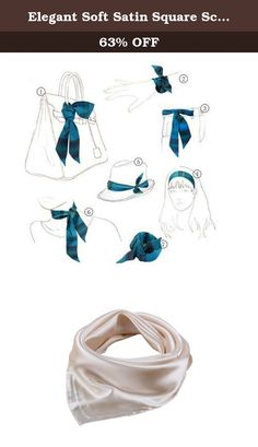 Elegant Soft Satin Square Scarf Bandana Solid Color For Women(Apricot). Product Features: Made of silk-like fabric,soft,thick,and silky. It is the perfect finishing accent to your outfit. Multiple patterns Available,different patterns to fit different occasions and show distinct feelings. Great additions to your collection of fashion accessories. Vibrant color, luxurious silky feel, feminine yet sexy. Trendy, high quality, versatile, and light weight. Gorgeous and beautiful style, fashion...