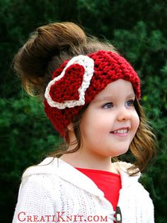 Fall in love… with this crocheted head warmer!
