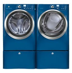 4.2 Cu. Ft. Front Load Washer with IQ-Touch™ Controls featuring Perfect Steam™ & 8.0 Cu. Ft. Gas Front Load Dryer with IQ-TouchTM Controls featuring Perfect SteamTM