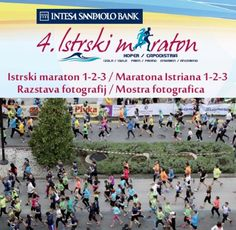 Zaključujejo se cenejše prijave na Intesa Sanpaolo Bank 4. Istrski maraton  #Istrskimaraton