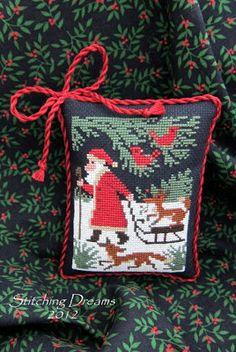"Prairie Schooler's Book No.110 ""Santa & Friends"