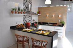 Área nos fundos da casa vira espaço gourmet para reunir a família - Casa