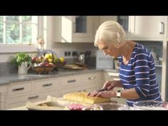 Mary Berry's Lucy's Strawberry Slices (The Allotment) - YouTube