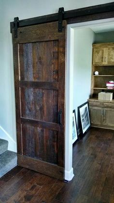 We have several builder customers which like one of our doors in each of their new houses. Sometimes the new homeowner will opt for two or three or an island top or big table or bar top, etc. This door is in Copperleaf.