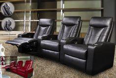 Pavillion Leather Theater Seating