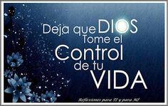 α JESUS NUESTRO SALVADOR Ω: Controla mi vida Señor, no más aventura no más…