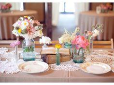 Diez señales que será un boda vintage | El blog de María José Centros de mesa para boda vintage