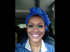 AcidBerry Makeup Tutorial and Turban Headwrap Demo