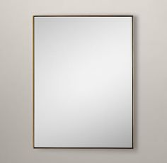 Custom Metal Mirror Floating | Custom Metal Mirrors | Restoration Hardware