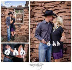 Datil New Mexico Engagement Photography. Ranchlife, cowboy, western, save the date!