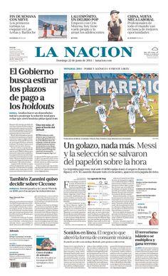 "La Nacion (Argentina): ""Un golazo, nada mas"" (One beautiful goal, nothing more)"