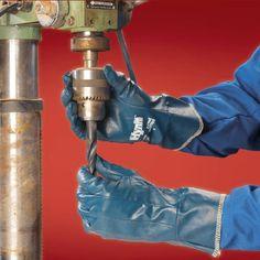Gants en nitrile et coton interlock - Code produit: 9297541 - Cliquez sur la photo pour voir la fiche produit