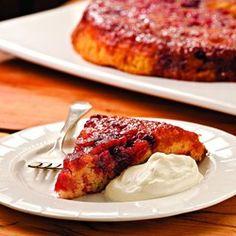 In this healthy cranberry-walnut Bundt cake recipe, Greek yogurt and shredded…