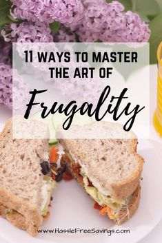 Ways to Master The Art of Frugalness - These are some great ideas about learning how to be frugal. Manage your household on a budget with these frugality tips. Frugal Living for Beginners Living On A Budget, Frugal Living Tips, Frugal Tips, Frugal Meals, Ways To Save Money, Money Tips, Money Saving Tips, Cash Money, Budgeting Finances