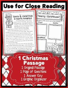 The winter rush is so much fun! In this freebie, you will find one original passage, with and without borders. Use the passage without borders for Close Reading and text annotating. You will also find one page of questions, one answer key, and one SUPER Reading Passages, Teaching Reading, Reading Comprehension, Teaching Ideas, Learning, Reading Lessons, Reading Skills, Reading Groups, Writing Lessons