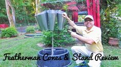 Featherman Poultry Processing Cones & Cone Stand Review - Is It Worth It...