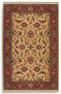 Curvaceous lines and intricate patterns characterize Karastan's Ashara Agra.